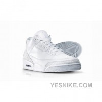 Big Discount! 66% OFF! Air Jordan 3 Silver Anniversary Collection Neutral Grey Metallic Silver