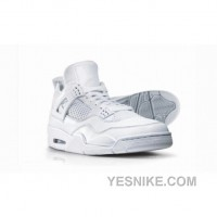 Big Discount! 66% OFF! Air Jordan 4 Silver Anniversary Collection Neutral Grey Metallic Silver