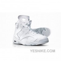 Big Discount! 66% OFF! Air Jordan 6 Silver Anniversary Collection Neutral Grey Metallic Silver
