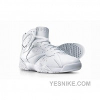 Big Discount! 66% OFF! Air Jordan 7 Silver Anniversary Collection Neutral Grey Metallic Silver