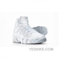 Big Discount! 66% OFF! Air Jordan 9 Silver Anniversary Collection Neutral Grey Metallic Silver