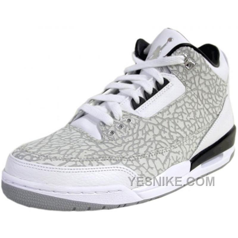 new concept 7aff7 ee428 ... reduced casual shoes 7d289 0e875 air jordan retro 3 flip white blk metallic  silver .