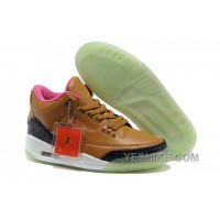 Big Discount! 66% OFF! Men's Air Jordan 3 Luminous Sole HrNJr
