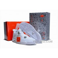 Big Discount! 66% OFF! Air Jordan 4 Limited White