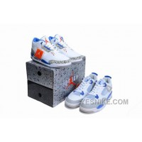 Big Discount! 66% OFF! Jordan 3 True Blues - Jordan 4 Militarys Pack Limited Editon For Sale