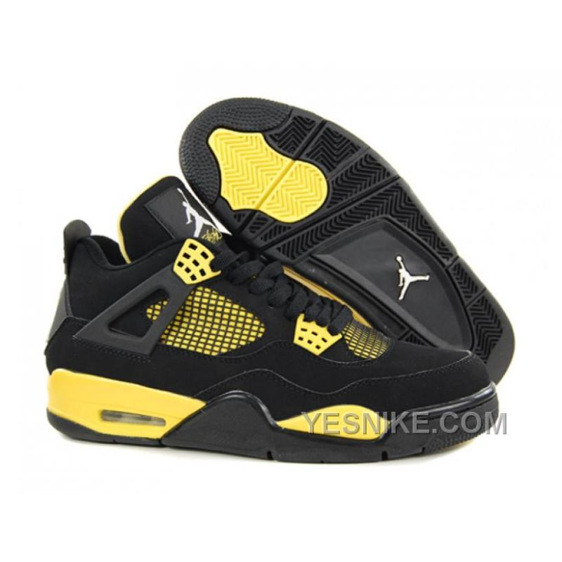 Big Discount 66 OFF Air Jordan 4 IV Retro Thunder BlackWhiteTour Yellow