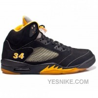 Big Discount! 66% OFF! Air Jordan 5 Seattle Supersonics Ray Allen Away PE JBM412-M6-C1LN4