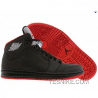 Big Discount! 66% OFF! Air Jordan Prime 5 Black Varsity Red Silver 429489-003
