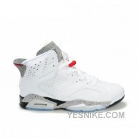 Big Discount! 66% OFF! Air Jordan 6 (VI) Olympics White Black Cement