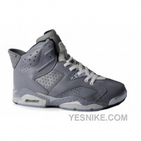 Big Discount! 66% OFF! Air Jordan 6(VI) Cool Grey Stria