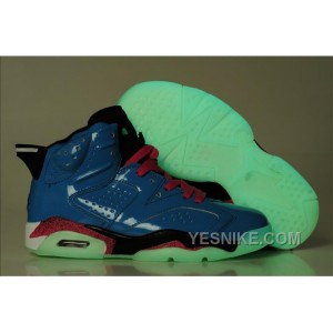official photos d0a6e 1d7f3 ... Big Discount! 66% OFF! Air Jordan Femme-Jordan 6 Retro Bleu 3iDhF