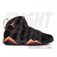 Big Discount! 66% OFF! Air Jordan Retro 7 Black Citrus Varsity Red 304775 081