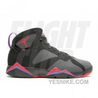Big Discount! 66% OFF! Air Jordan Retro 7 Defining Moments Black Silver Red 304775-043