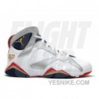 Big Discount! 66% OFF! Air Jordan Retro 7 For The Love Of The Game White Mtllc Gold TR RD Mid Nvy 304775 103