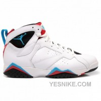 Big Discount! 66% OFF! Air Jordan Retro 7 Orion White Blue Black Infrared 304775-105