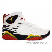 Big Discount! 66% OFF! Air Jordan Retro 7 Premio Bin23 White Del Sol Black Chllng Red 436206-101