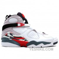 Big Discount! 66% OFF! 305381-103 Air Jordan 8 Bugs Bunny White / Black / True Red ( Men Women GS Girls)