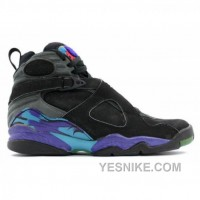 Big Discount! 66% OFF! Air Jordan Retro 8 Black White Concord Aqua Tone 130169-040
