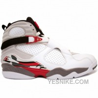 Big Discount! 66% OFF! Air Jordan Retro 8 White Black True Red 305381-103