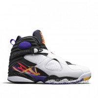Big Discount! 66% OFF! Authentic 305381-142 Air Jordan 8 Retro White/Infrared 23-Black-Bright Concord Style