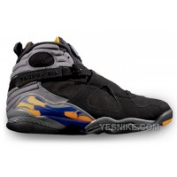 Big Discount! 66% OFF! 305381-043 Air Jordan 8 Retro Phoenix Suns Black Bright Citrus-Cool Grey-Deep Royal