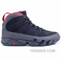 Big Discount! 66% OFF! Air Jordan 9 Charcoal Black True Red 3025370-005