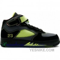 Big Discount! 66% OFF! Air Jordan AJF 5 Ls Black Bright Cactus Anthr 322882-031