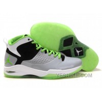 Big Discount! 66% OFF! Jordan Fly Wade 1 White Black Grey Green A19001