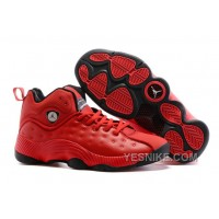 Big Discount! 66% OFF! Men's Air Jordan Jumpman Team II Basketball Shoes Gym Red/Gym Red/White/Black 819175 601