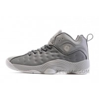 Big Discount! 66% OFF! Men's Air Jordan Jumpman Team II Basketball Shoes Cool Grey/White/Wolf Grey 819175