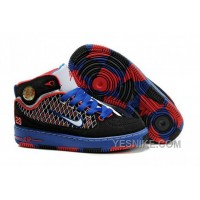 Big Discount! 66% OFF! Kids Air Jordan Force 1 Camouflage Blue Black