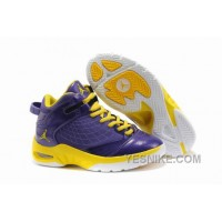 Big Discount! 66% OFF! Kids Jordan New School Purple Yellow