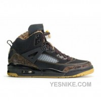 Big Discount! 66% OFF! Air Jordan Spizike Black Metallic Gold 315371-072