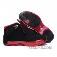 Big Discount! 66% OFF! Air Jordan 18 Original OG Black Women Varsity Red 305869-165