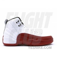 Big Discount! 66% OFF! Air Jordan Retro 12 (gs) White Black Varsity Red 153265-110