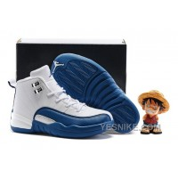 "Big Discount! 66% OFF! Kids Air Jordan 12 ""French Blue"" 2016 For Sale AN8mS"