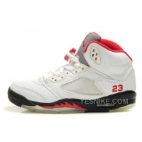 Big Discount! 66% OFF! Kids Air Jordan V Sneakers 200