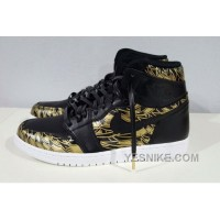 Big Discount! 66% OFF! Men Basketball Shoe Air Jordan 1 Gold Medal 276
