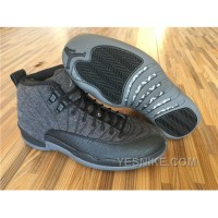 Big Discount! 66% OFF! Men Basketball Shoes Air Jordan XII Wool AAA 274 6PtER