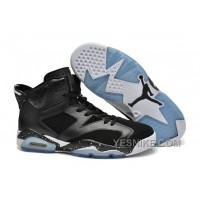 Big Discount! 66% OFF! Jordan 6 Black Oreo Full Black White Speckled For Sale