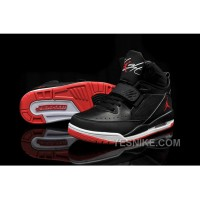 Big Discount! 66% OFF! Jordan Flight 97 Black White Red Shoes For Sale