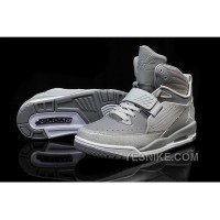 Big Discount! 66% OFF! Jordan Flight 97 Cool Grey Wolf White Shoes For Sale Online