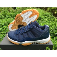 Big Discount! 66% OFF! Men Air Jordan 11 Navy Gum