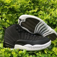 Big Discount! 66% OFF! Men PSNY X Air Jordan 12 Black White