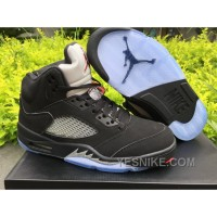 Big Discount! 66% OFF! Men Air Jordan 5 OG Black Metallic