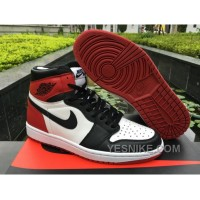 Big Discount! 66% OFF! Men Air Jordan 1 OG Black Toe Xx74J