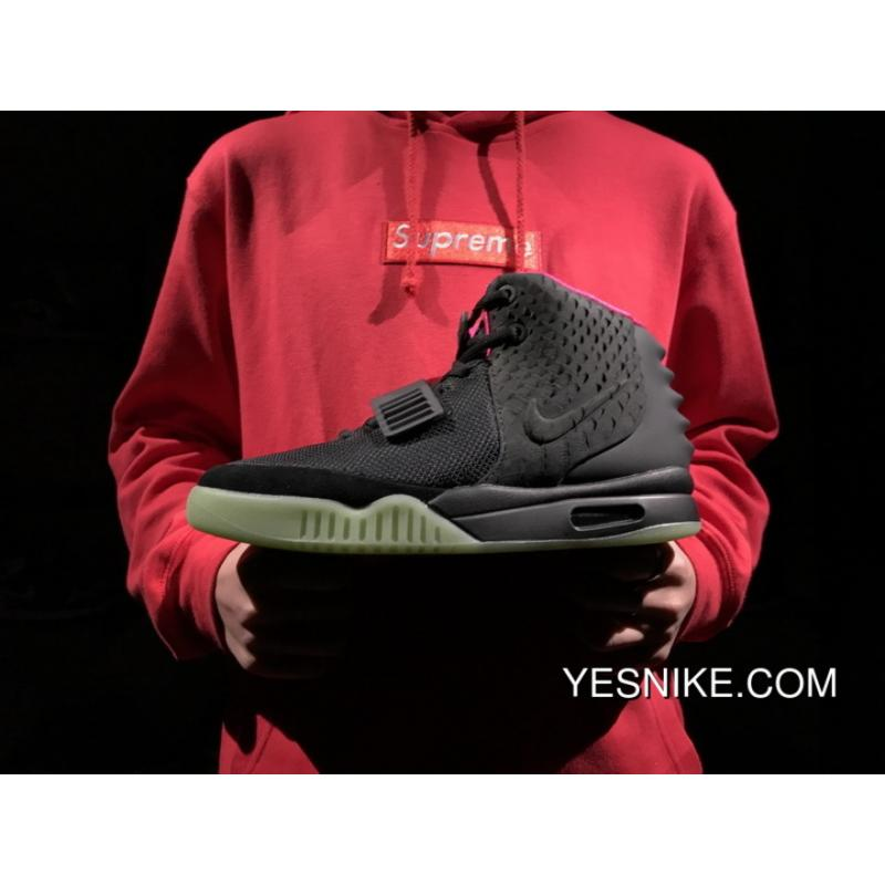 238f4cd6db0c75 Black Pink Kanye West 2 Nike Air Yeezy II NRG Solar Red 508214-006 Outlet  ...