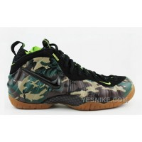 """Big Discount ! 66% OFF! Nike Air Foamposite Pro PRM LE """"Army Camo"""" Forest/Black For Sale"""