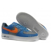 Big Discount ! 66% OFF ! Nike Womens Air Force 1 Low Upstep BR Gamma Blue