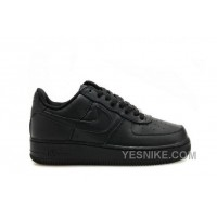 Big Discount ! 66% OFF ! Air Force 1 Low Premium 07 LE Black